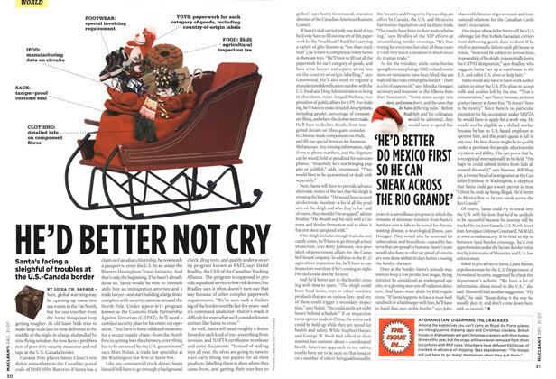 Article Preview: HE'D BETTER NOT CRY, DEC. 31st 2007 2007 | Maclean's