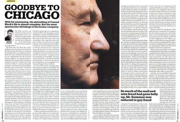 Article Preview: GOODBYE TO CHICAGO, DEC. 31st 2007 2007 | Maclean's