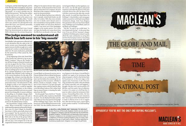 Article Preview: WHO'S SUING WHOM, DEC. 31st 2007 2007 | Maclean's