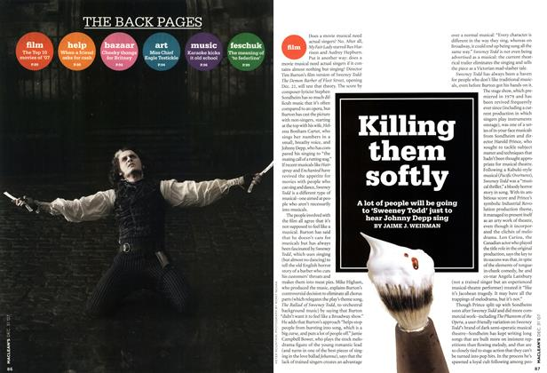 Article Preview: Killing them softly, DEC. 31st 2007 2007 | Maclean's