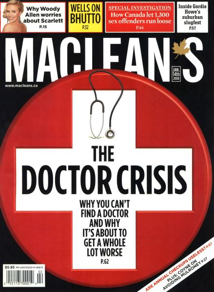 Issue: - JAN. 14th 2008 | Maclean's