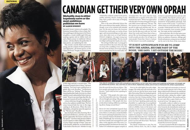 Article Preview: CANADIAN GET THEIR VERY OWN OPRAH, JAN. 14th 2008 2008 | Maclean's