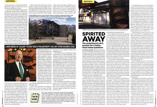 Article Preview: SPIRITED AWAY, JAN. 14th 2008 2008 | Maclean's
