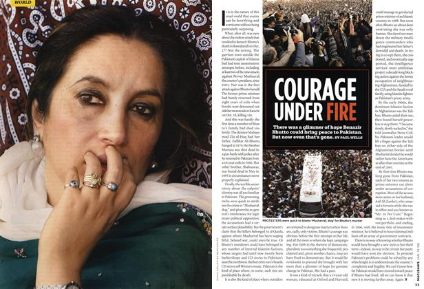 Article Preview: COURAGE UNDER FIRE, JAN. 14th 2008 2008 | Maclean's