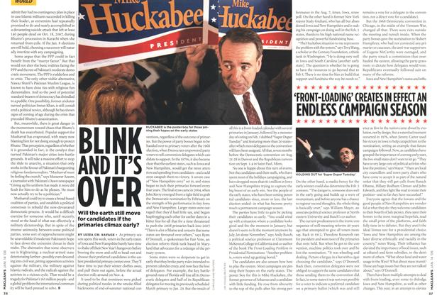 Article Preview: BLINK AND IT'S OVER, JAN. 14th 2008 2008 | Maclean's