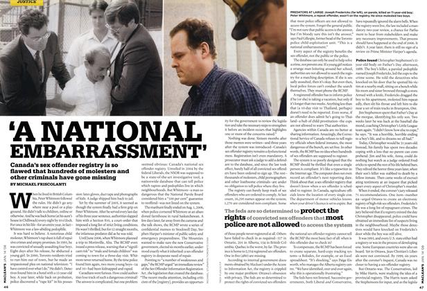 Article Preview: 'A NATIONAL EMBARRASSMENT', JAN. 14th 2008 2008 | Maclean's