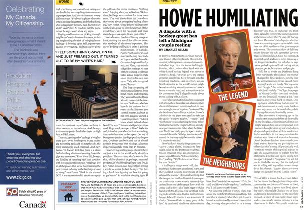 Article Preview: HOWE HUMILIATING, JAN. 14th 2008 2008 | Maclean's