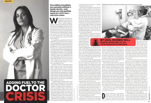 Article Preview: ADDING FUEL TO THE DOCTOR, JAN. 14th 2008 2008 | Maclean's