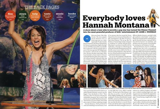 Article Preview: Everybody loves Hannah Montana, JAN. 14th 2008 2008 | Maclean's