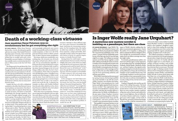 Article Preview: Death of a working-class virtuoso, JAN. 14th 2008 2008 | Maclean's