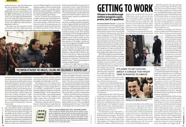 Article Preview: GETTING TO WORK, JAN. 21st 2008 2008 | Maclean's