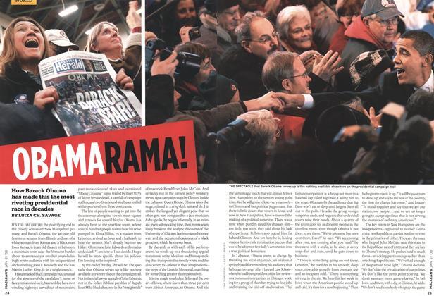 Article Preview: OBAMA RAMA!, JAN. 21st 2008 2008 | Maclean's