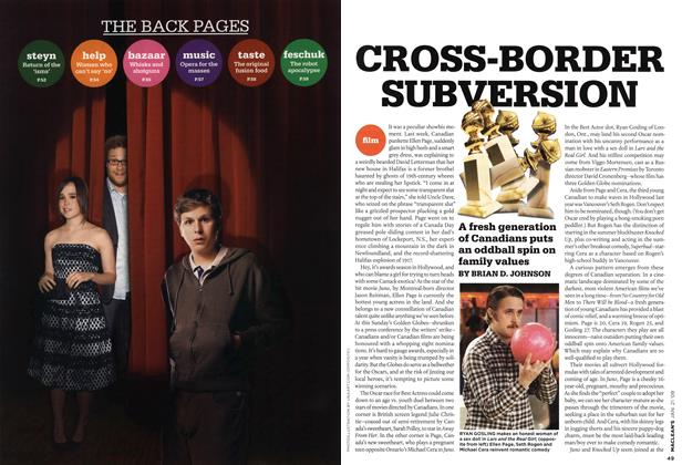 Article Preview: CROSS-BORDER SUBVERSION, JAN. 21st 2008 2008 | Maclean's