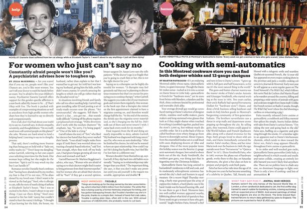 Article Preview: Cooking with semi-automatics, JAN. 21st 2008 2008 | Maclean's