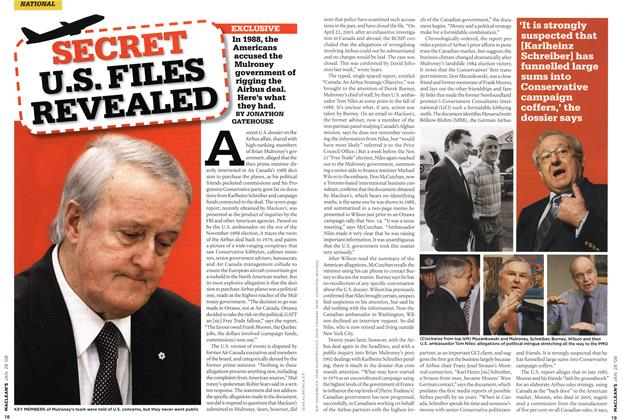 Article Preview: SECRET U.S. FILES REVEALED, JAN. 28th 2008 2008 | Maclean's