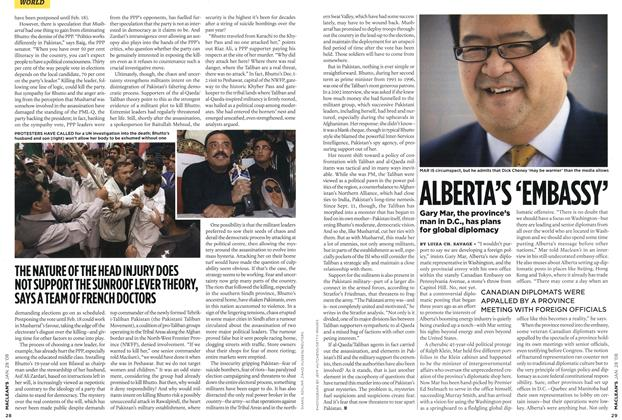 Article Preview: ALBERTA'S 'EMBASSY', JAN. 28th 2008 2008 | Maclean's