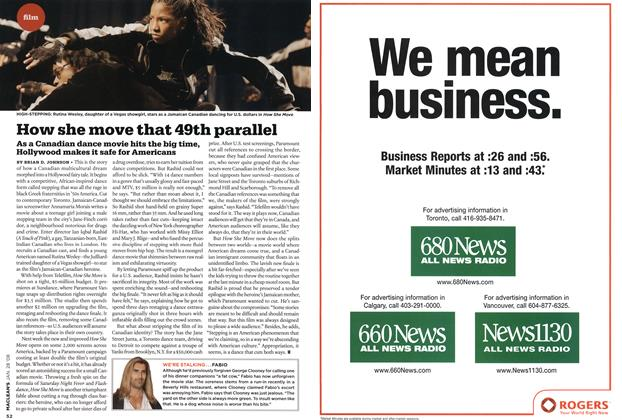 Article Preview: How she move that 49th parallel, JAN. 28th 2008 2008 | Maclean's