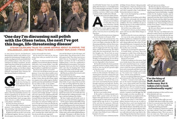 Article Preview: 'One day I'm discussing nail polish with the Olsen twins, the next I've got this huge, life-threatening disease', FEB. 4th 2008 2008 | Maclean's