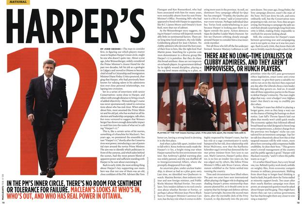 Article Preview: HARPER'S 12, FEB. 4th 2008 2008 | Maclean's