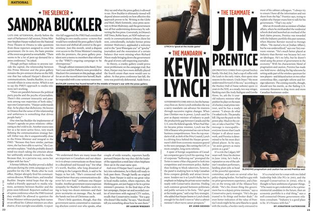 Article Preview: SANDRA BUCKLER, FEB. 4th 2008 2008 | Maclean's