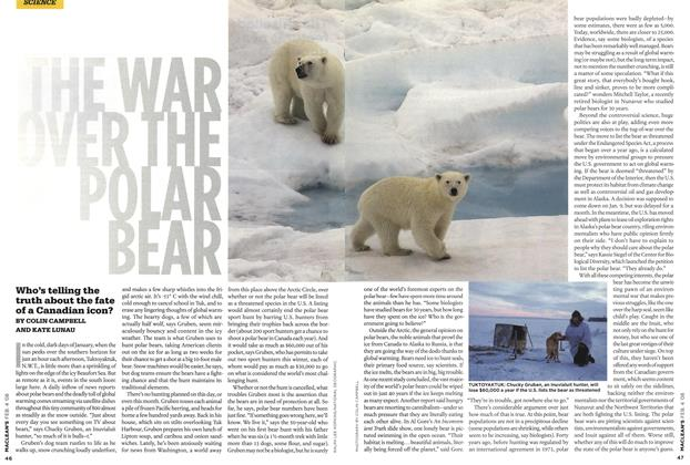 Article Preview: THE WAR OVER THE POLAR BEAR, FEB. 4th 2008 2008 | Maclean's