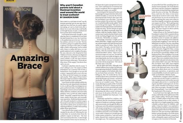 Article Preview: Amazing Brace, FEB. 4th 2008 2008 | Maclean's
