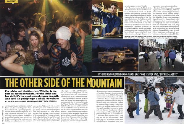 Article Preview: THE OTHER SIDE OF THE MOUNTAIN, FEB. 4th 2008 2008 | Maclean's