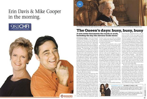 Article Preview: The Queen's days: busy, busy, busy, FEB. 4th 2008 2008 | Maclean's