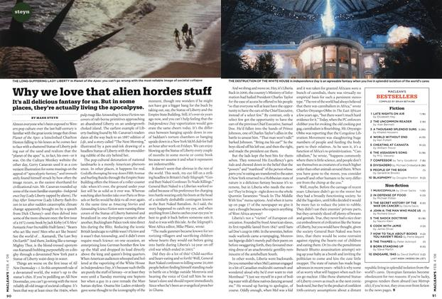 Article Preview: Why we love that alien hordes stuff, FEB. 4th 2008 2008 | Maclean's