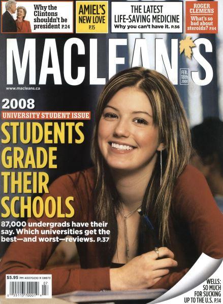 Issue: - FEB. 18th 2008 | Maclean's