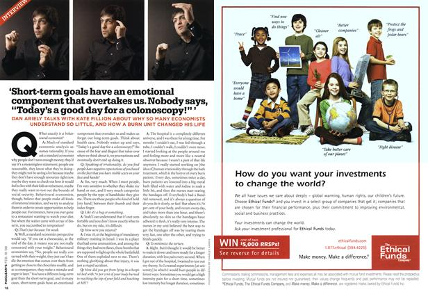 Article Preview: INTERVIEW, FEB. 18th 2008 2008 | Maclean's