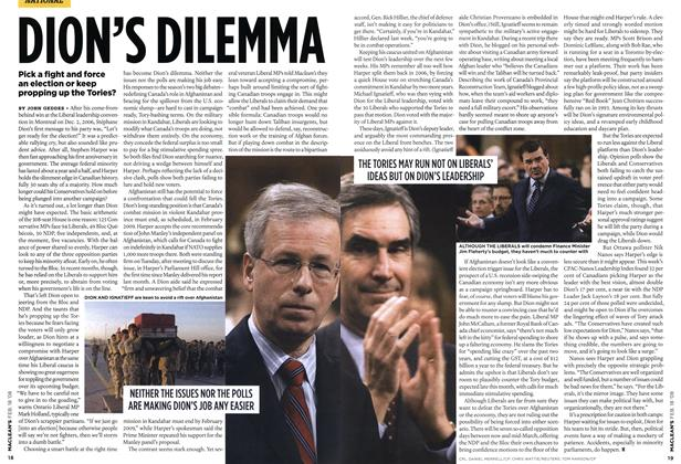 Article Preview: DION'S DILEMMA, FEB. 18th 2008 2008 | Maclean's