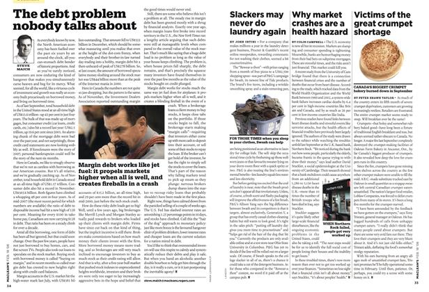 Article Preview: Why market crashes are a health hazard, FEB. 18th 2008 2008 | Maclean's