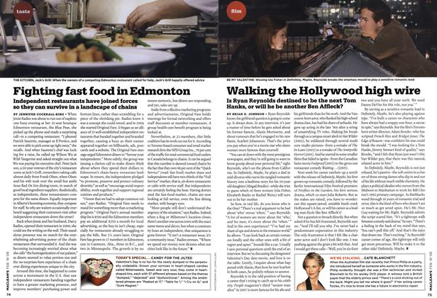 Article Preview: Walking the Hollywood high wire, FEB. 18th 2008 2008 | Maclean's