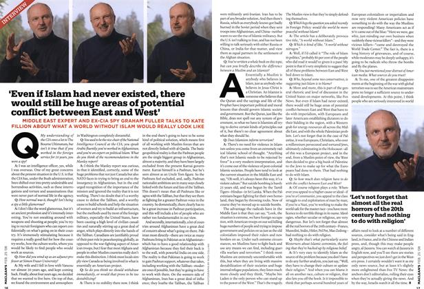 Article Preview: 'Even if Islam had never existed, there would still be huge areas of potential conflict between East and West', FEB. 25th 2008 2008 | Maclean's