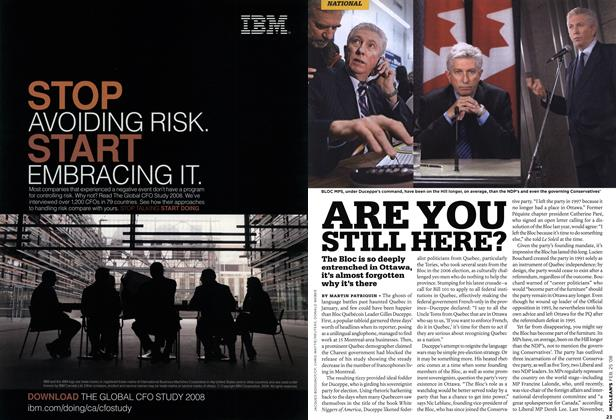 Article Preview: ARE YOU STILL HERE?, FEB. 25th 2008 2008 | Maclean's