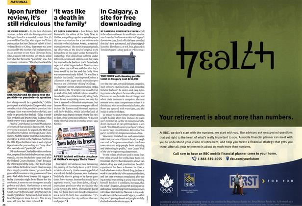 Article Preview: 'It was like a death in the family', FEB. 25th 2008 2008 | Maclean's