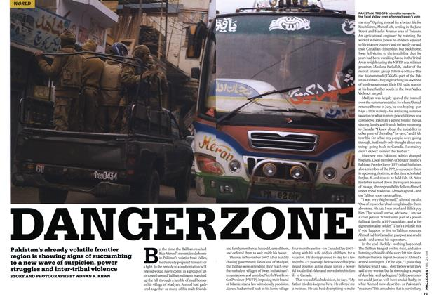 Article Preview: DANGER ZONE, FEB. 25th 2008 2008 | Maclean's