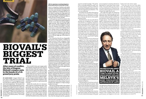 Article Preview: BIOVAIL'S BIGGEST TRIAL, FEB. 25th 2008 2008 | Maclean's