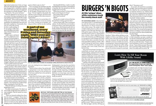 Article Preview: BURGERS 'N BIGOTS, FEB. 25th 2008 2008 | Maclean's
