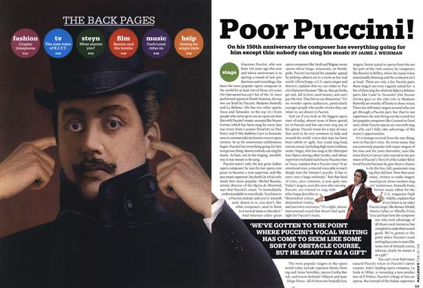 Article Preview: Poor Puccini !, FEB. 25th 2008 2008 | Maclean's