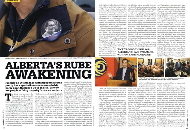 Article Preview: ALBERTA'S RUBE AWAKENING, MAR. 3rd 2008 2008 | Maclean's