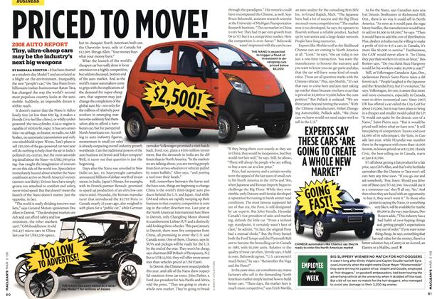 Article Preview: PRICED TO MOVE!, MAR. 3rd 2008 2008 | Maclean's