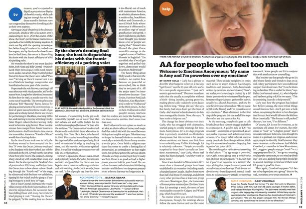 Article Preview: AA for people who feel too much, MAR. 3rd 2008 2008 | Maclean's