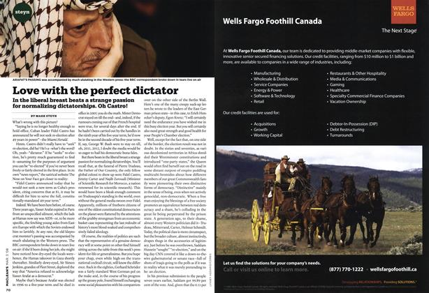 Article Preview: Love with the perfect dictator, MAR. 3rd 2008 2008 | Maclean's
