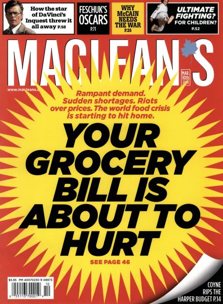 Issue: - MAR. 10th 2008 | Maclean's
