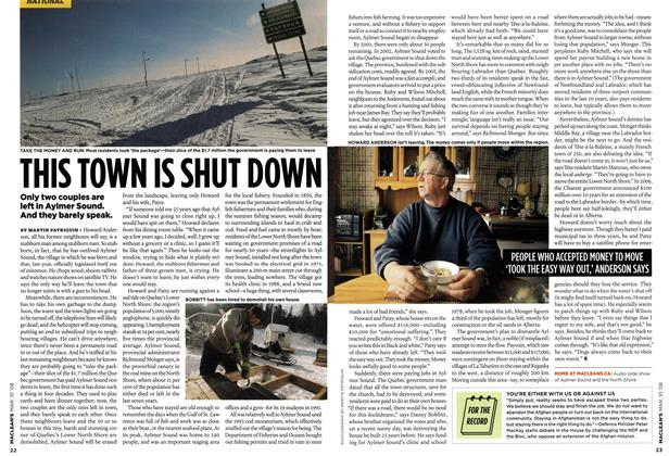 Article Preview: THIS TOWN IS SHUT DOWN, MAR. 10th 2008 2008 | Maclean's