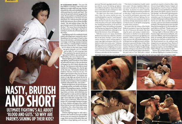 Article Preview: NASTY, BRUTISH AND SHORT, MAR. 10th 2008 2008 | Maclean's