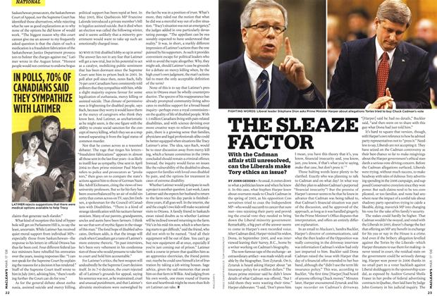 Article Preview: THE SLEAZE FACTOR, MAR. 17th 2008 2008 | Maclean's