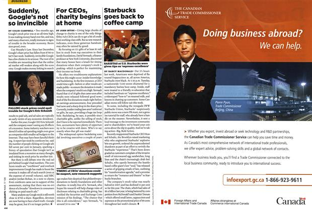 Article Preview: Advertisement, MAR. 17th 2008 2008 | Maclean's